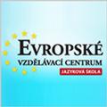 logo EVROPSKÉ VZDĚLÁVACÍ CENTRUM - jazyková škola