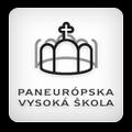 logo Panevropská vysoká škola - Praha