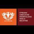 logo Střední uměleckoprůmyslová škola, Bechyně, Písecká 203