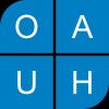 logo Obchodní akademie, Vyšší odborná škola a Jazyková škola s právem státní jazykové zkoušky Uherské Hradiště