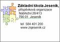 Základní škola Jeseník, příspěvková organizace