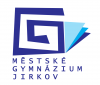 logo Městské gymnázium a Základní škola Jirkov