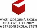 logo Vyšší odborná škola obalové techniky a Střední škola, Štětí, Kostelní 134, příspěvková organizace