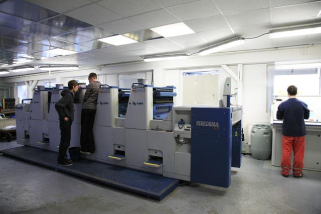 Tiskový stroj KBA Performa