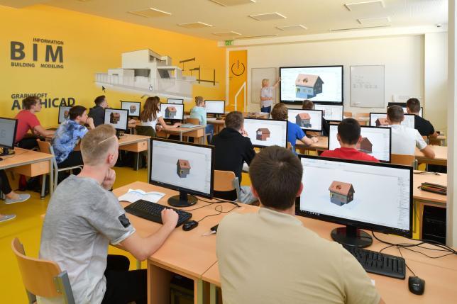 Učebna CAD systémů