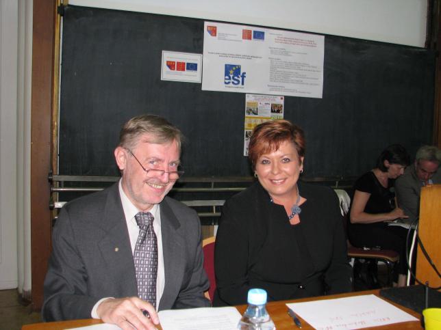 Seminář Projektu OPPA - MUDr. Čevela, Ph.D., PhDr. Kohoutová, PhD.