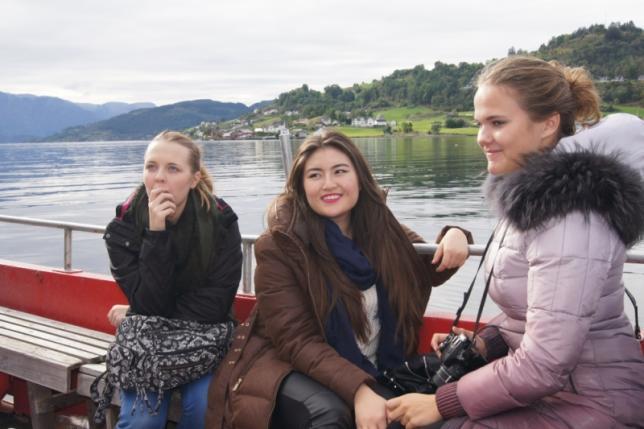 Norsko - projekt Comenius