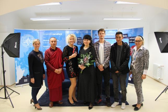 Beseda o UNICEF - návštěva z Bhútánu