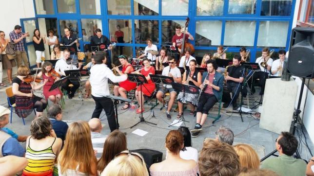 Big Band Evropská na terase