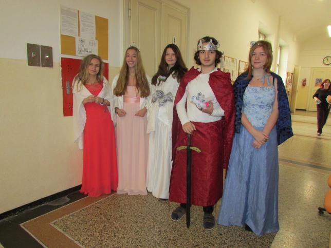 Karel IV. na ZŠ Perunova