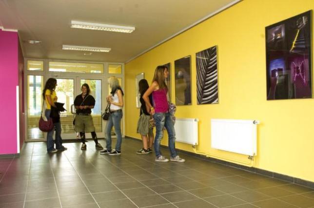 Interiér školní budovy