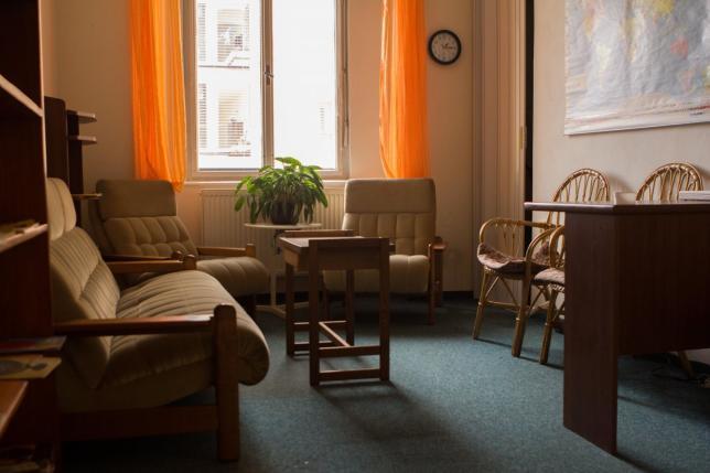 Relaxační místnost v Jazykové škole Jílek