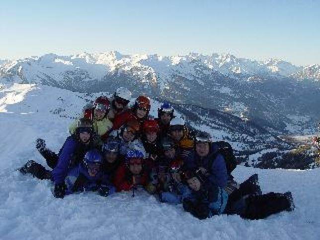 Lyžařský kurz, Alpy 2009