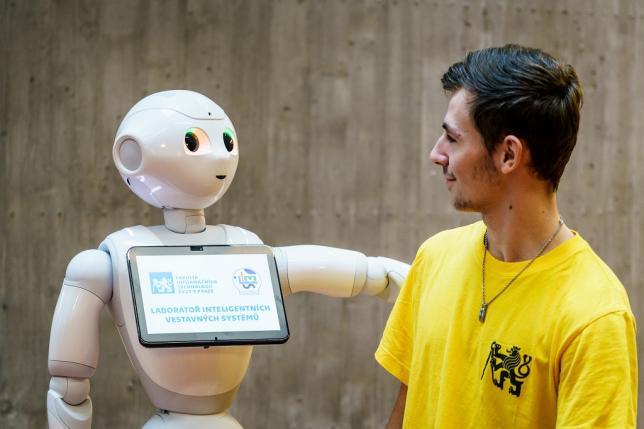Robot Pepper ve výuce