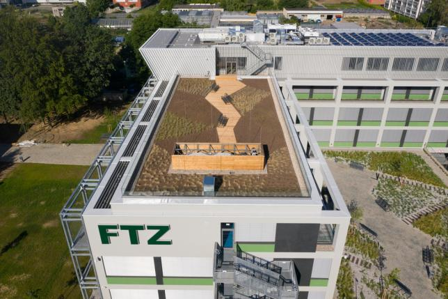 Nový pavilon tropického zemědělství