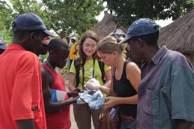 Zapojení studentů FTZ do projektu v Angole