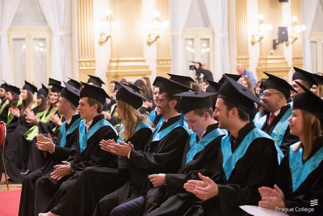 Prague College graduates