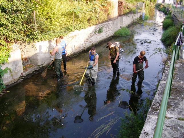 praxe žáků na Blanici
