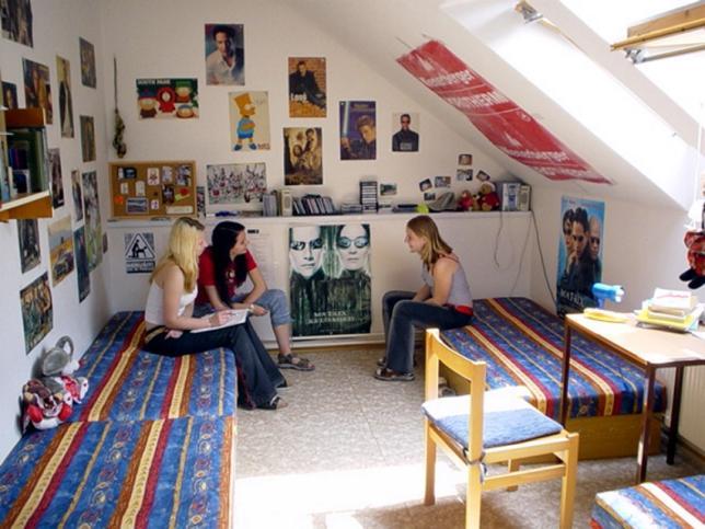 Pokoj na domově mládeže