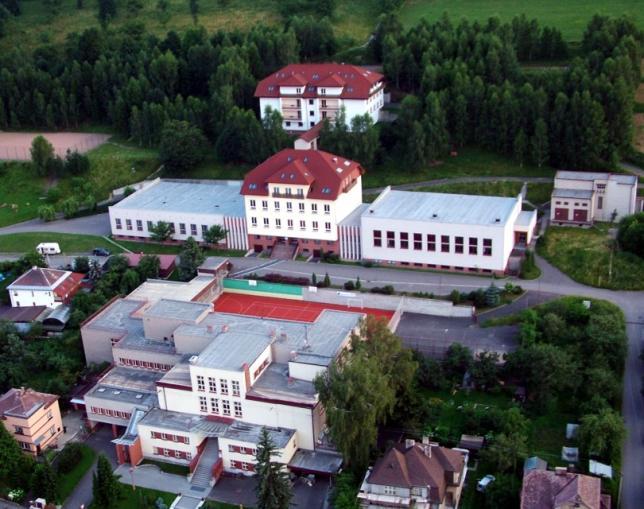 Letecký snímek PSŠ Letohrad