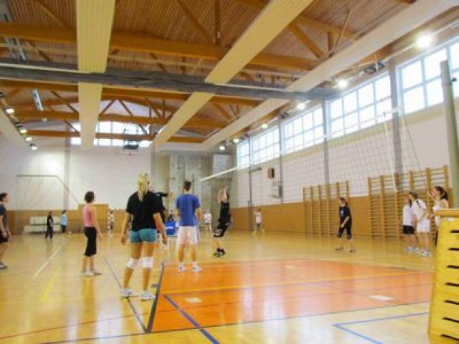 Sportovní hala gymnázia