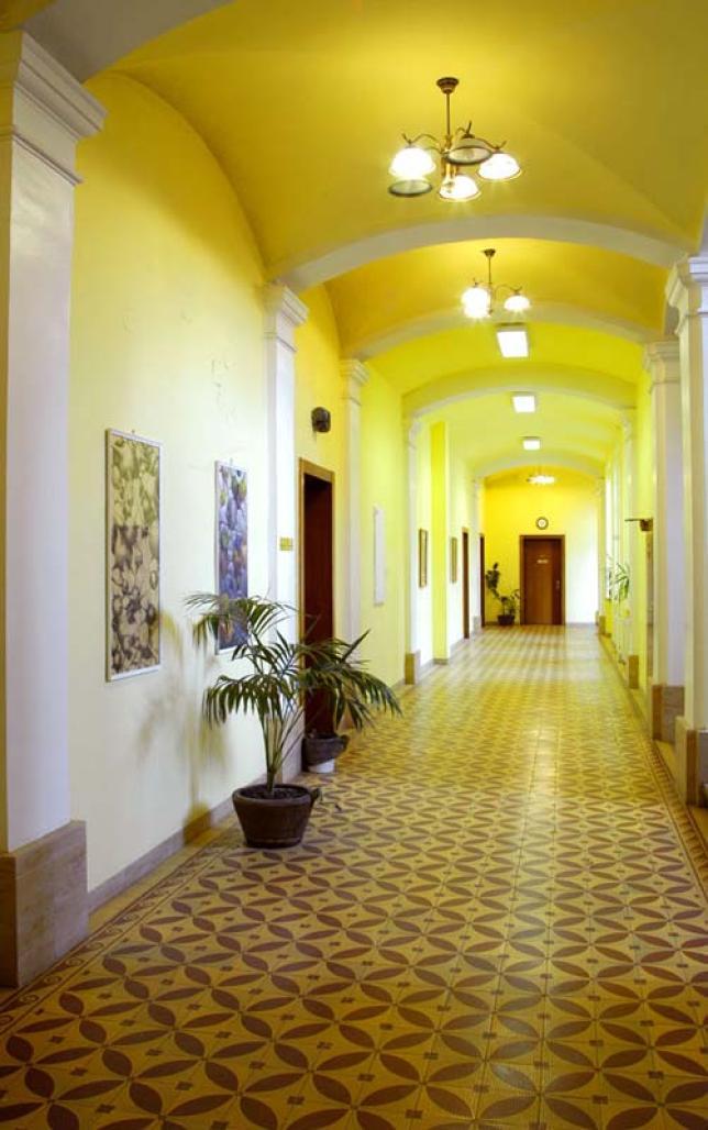 Interiéry Gymnázia Velké Meziříčí