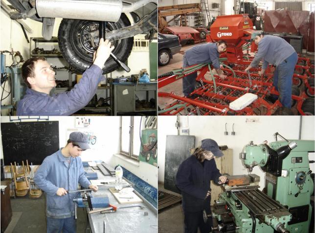 Opravář zemědělských strojů