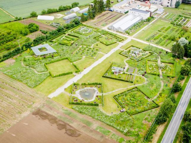 Tematické zahrady Zahradnické fakulty MENDELU