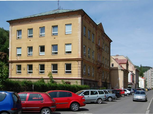 Budova praxe - střední škola