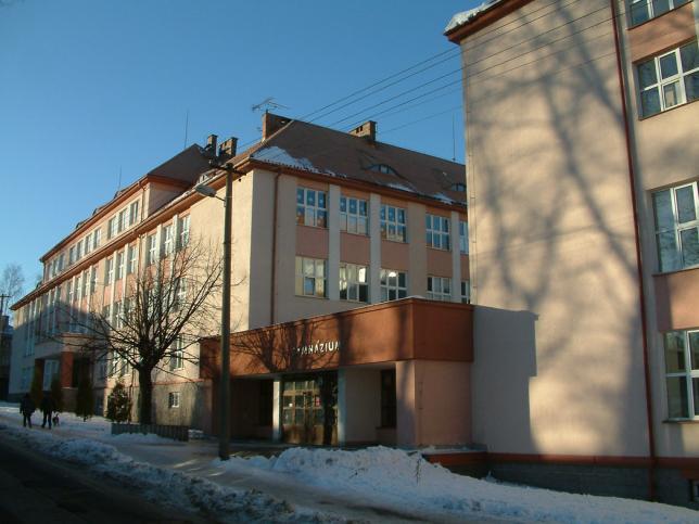 budova Gymnázia a SOŠPg Liberec v Jeronýmově ulici