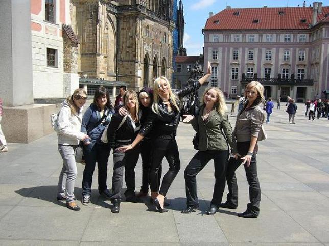 Školní výlet Praha