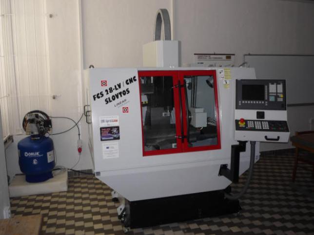 Nové CNC frézovací centrum