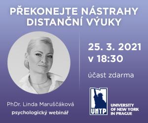 UNYP uvede psychologický webinář na téma: Překonejte nástrahy distanční výuky